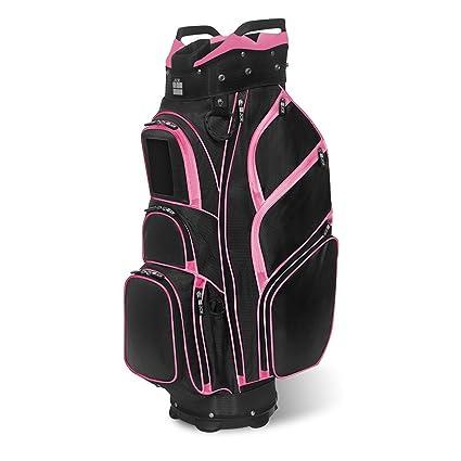Amazon.com: JCR Golf 650016 TL650 Women's Golf Cart Bag, Black/Pink on the best golf cart bags, women's golf bag with wheels, women's designer golf bags, 2014 golf cart bags, women's golf accessories gifts, sun mountain women's cart bags, product cart bags, 10 inch ping cart bags, custom cart golf bags, red golf cart bags, golf cart golf bags, men's golf cart bags, women's plaid gloves, tour edge golf cart bags,