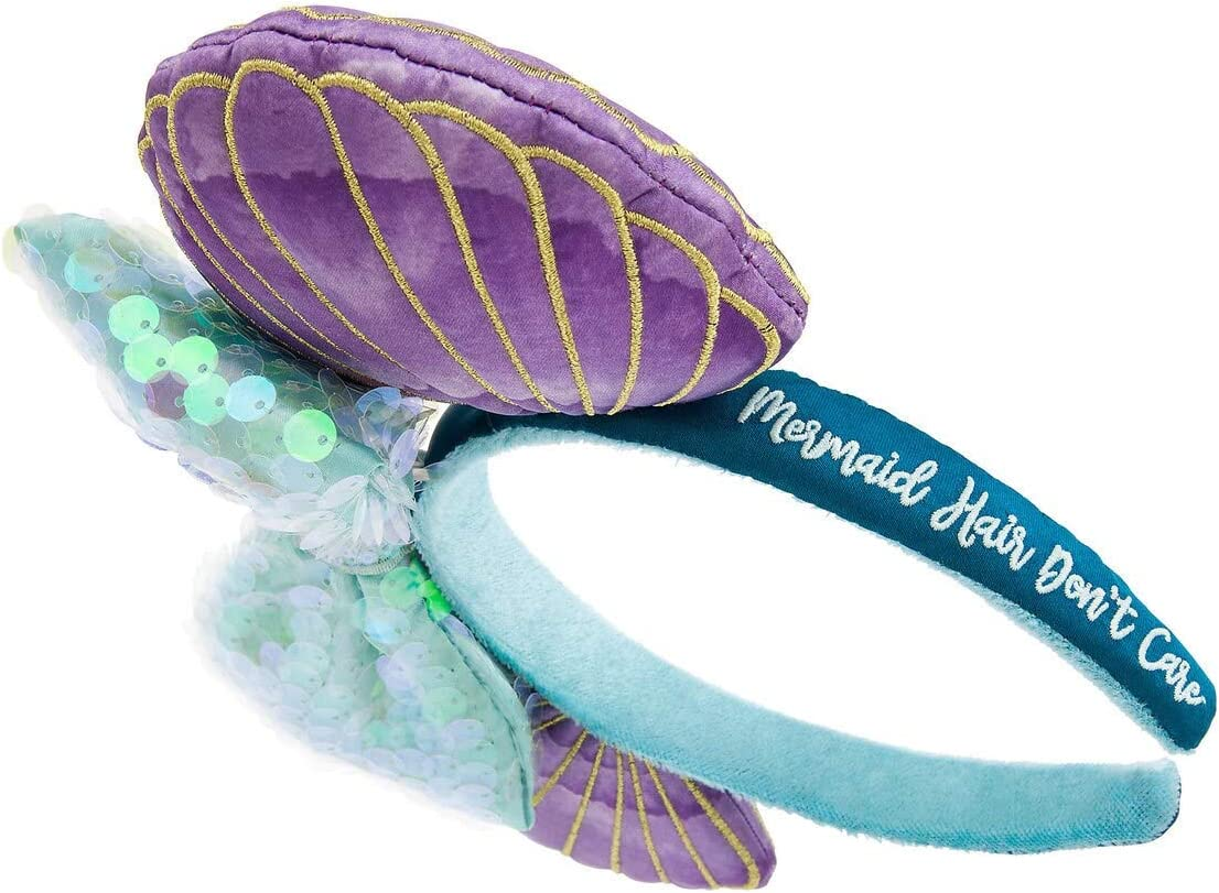Mermaid Mickey Ears Fish Scale Minnie Ears Ariel Inspired Mickey Ears Little Mermaid Mickey Ears Disney Ariel Ears Headband Mickey Mouse