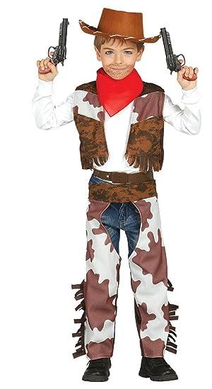 Guirca - Disfraz de vaquero, talla 3-4 años, color marrón (85683 ...