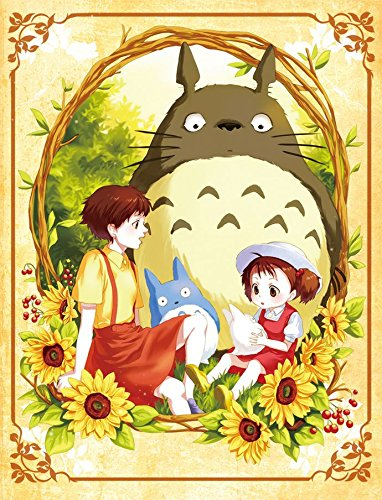Amazon.com: My Neighbor Totoro Poster Satsuki Kusakabe/ Mei Kusakabe ...