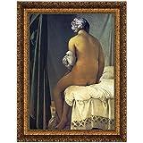 Design Toscano The Valpincon Bather, 1808, Canvas Replica Painting: Medium