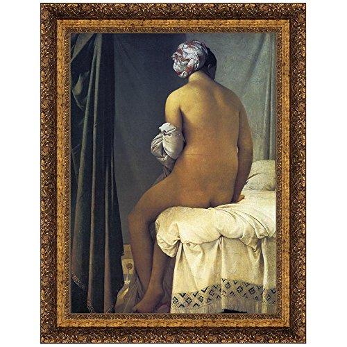Design Toscano The Valpincon Bather, 1808, Canvas Replica Painting: Medium by Design Toscano