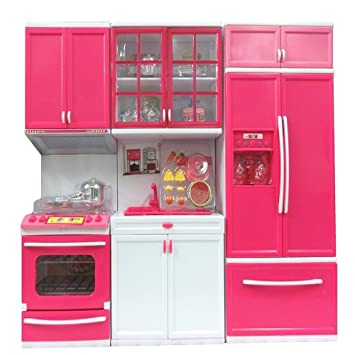 Buy Magnifico Kitchen Set Toy For Girl 3 Pc Kitchen Online At Low