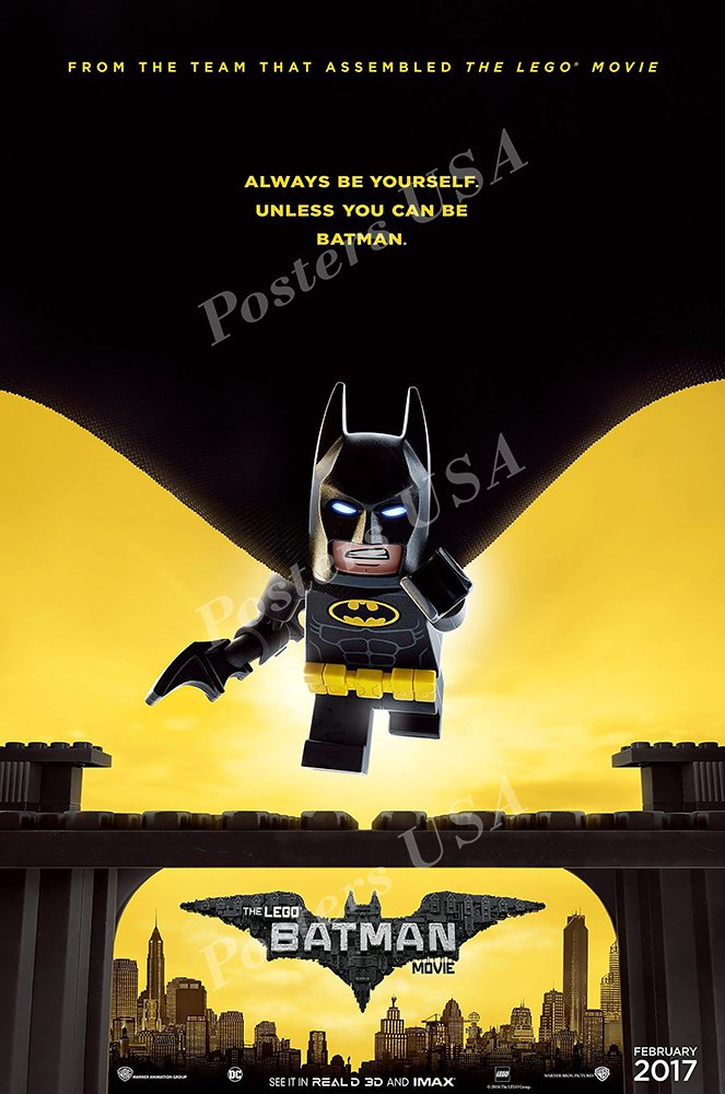 Amazon.com: Posters USA - Lego Batman Movie Poster GLOSSY ...