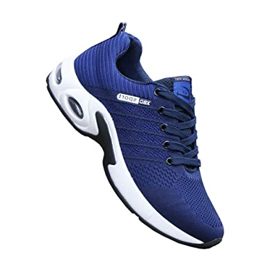 Amazon.com: Zapatillas deportivas transpirables con cojín de ...