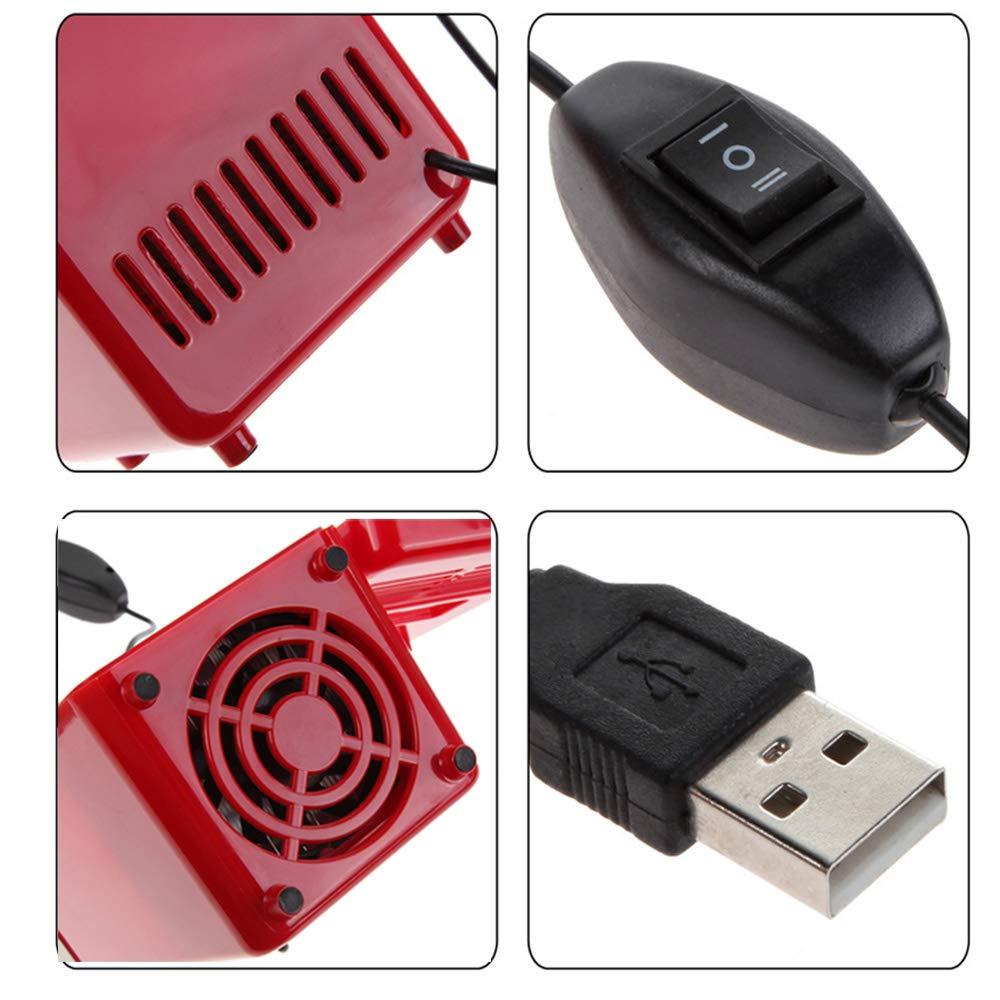 Lychee Mini R/éfrig/érateur Portable USB de voiture Bi/ère Boisson Peut Refroidisseur ou Chauffe 19,4 /× 9 /× 9 cm