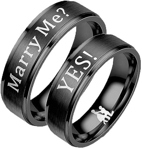 bague homme mariage noir