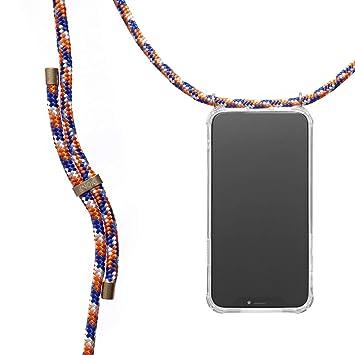 KNOK case KNOK Carcasa de movil con Cuerda para Colgar iPhone 7//8 Funda para iPhone//Samsung//Huawei con Correa Colgante Hecho a Mano en Berlin con Cordon para Llevar en el Cuello
