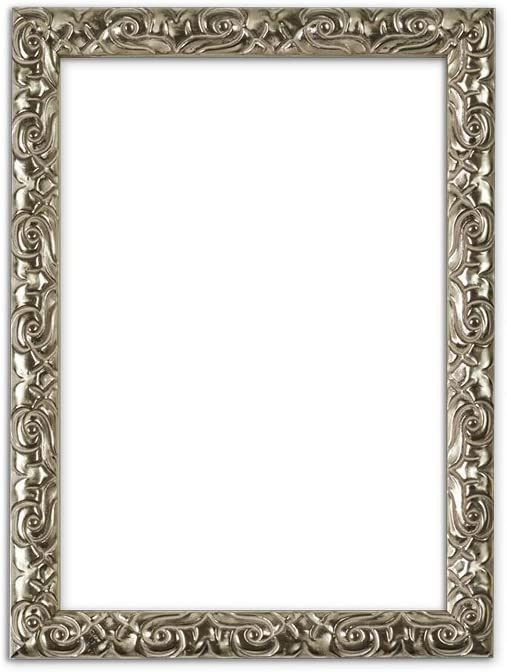 Antique Cushion Ornate Swept Picture Frame Photo Poster Frame With Bespoke Mount