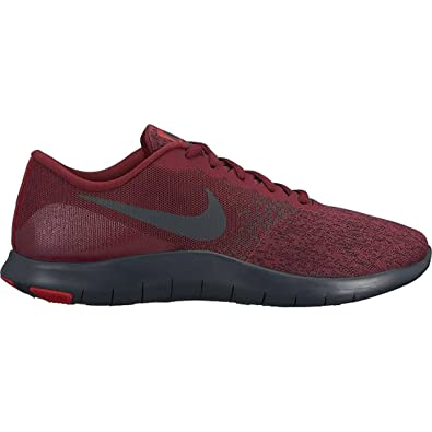 fe63ae888c476 Amazon.com | Nike Men's Flex Contact Running Shoe, Team Red-Anthracite-University  Red, 10 | Road Running