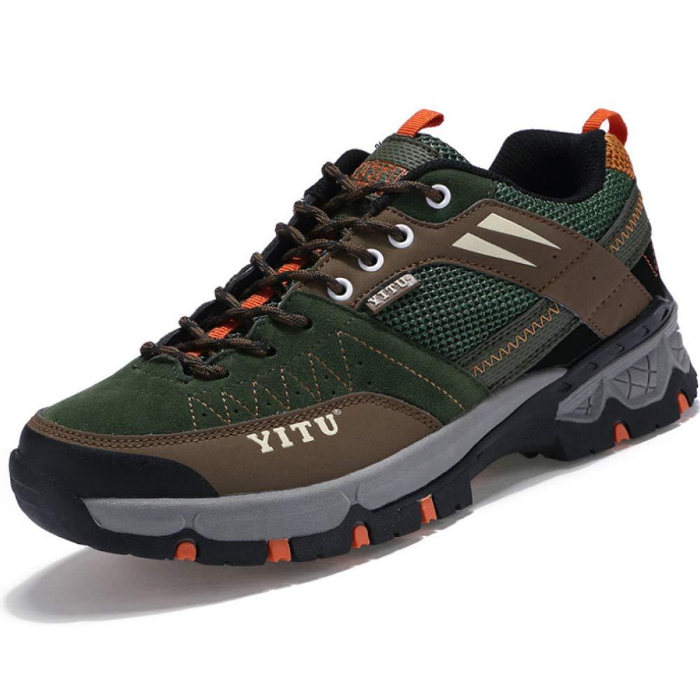 DSFGHE Herren Turnschuhe Netz Leichte Leichte Schuhe Schuhe Schuhe Wasserdichte Rutschfeste, Abriebfeste Outdoor-Wanderschuhe 24ba8b