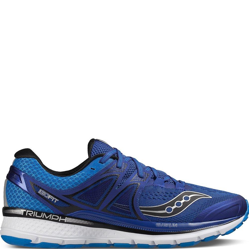 Bleu (Bleu Argent) 42.5 EU Saucony Triumph Iso 3, Chaussures de Course Homme