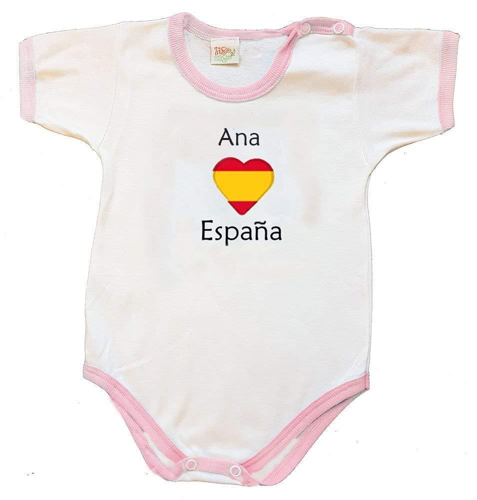 Zigozago - Body personalizado para Bebés