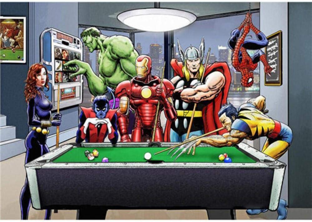Póster de la película de Superheros Marvel DC Comics Hot Movie Poster Art Moderno Hogar Lienzo Cuadro de pared Cuadro de pared para sala de estar, 5, 70X100 No Framed: Amazon.es: Hogar