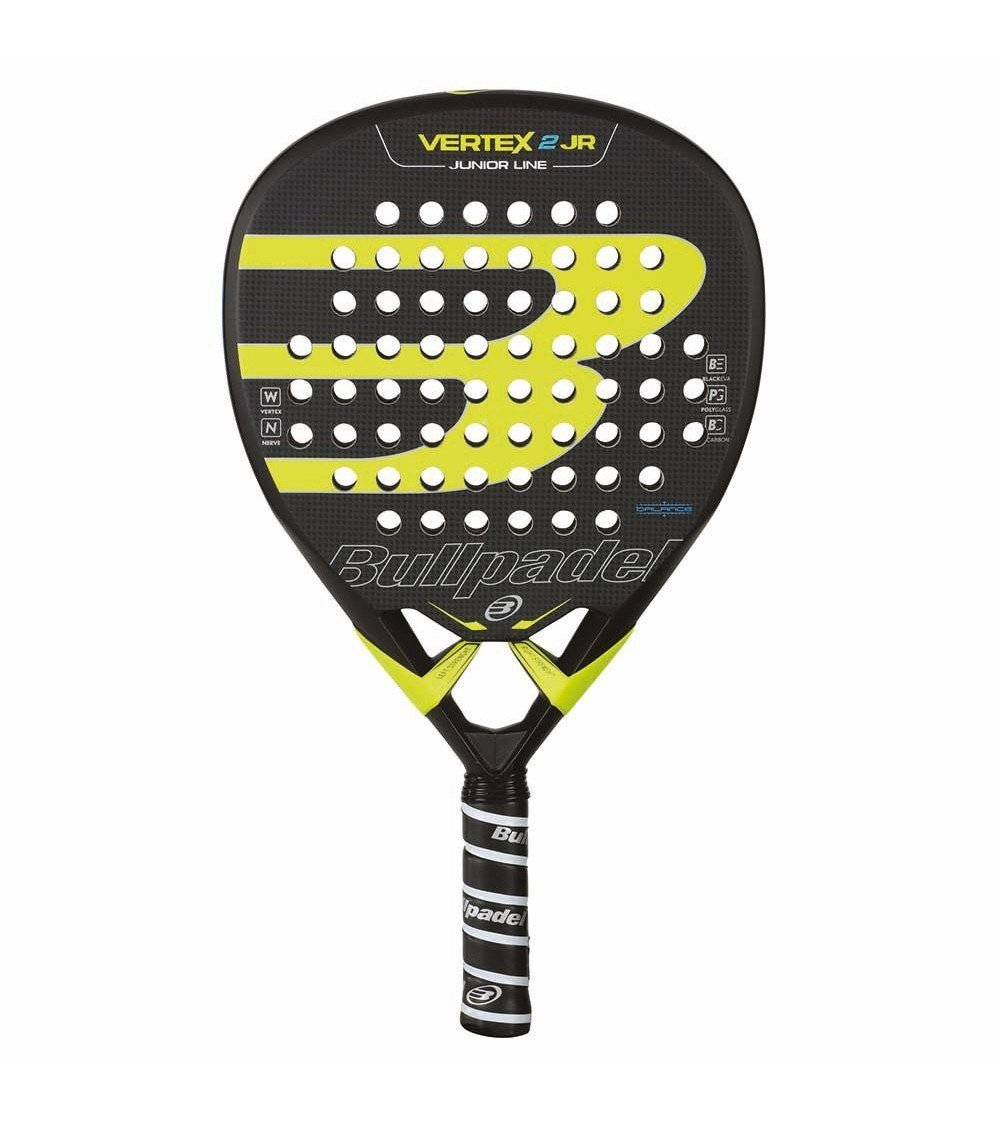 Pala de pádel de niños Vertex 2 Junior Boy 17 Bullpadel ...