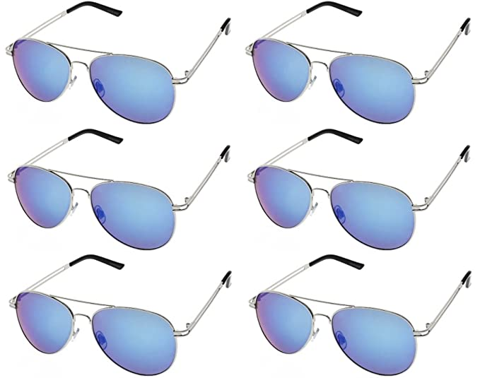 77790e108e Image Unavailable. Image not available for. Color  AVIATOR SUNGLASSES -  Classic   Stylish Retro ...