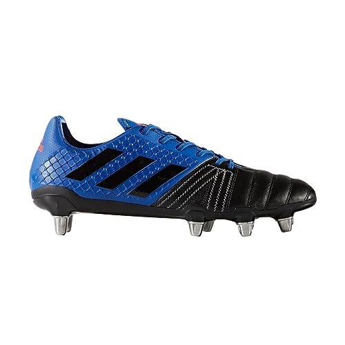 adidas Kakari Elite SG, Scarpe da Rugby Uomo, Blue (Reauni/Negbas /