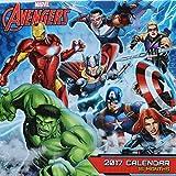 2017 Marvels Avengers 16-Month Wall Calendar