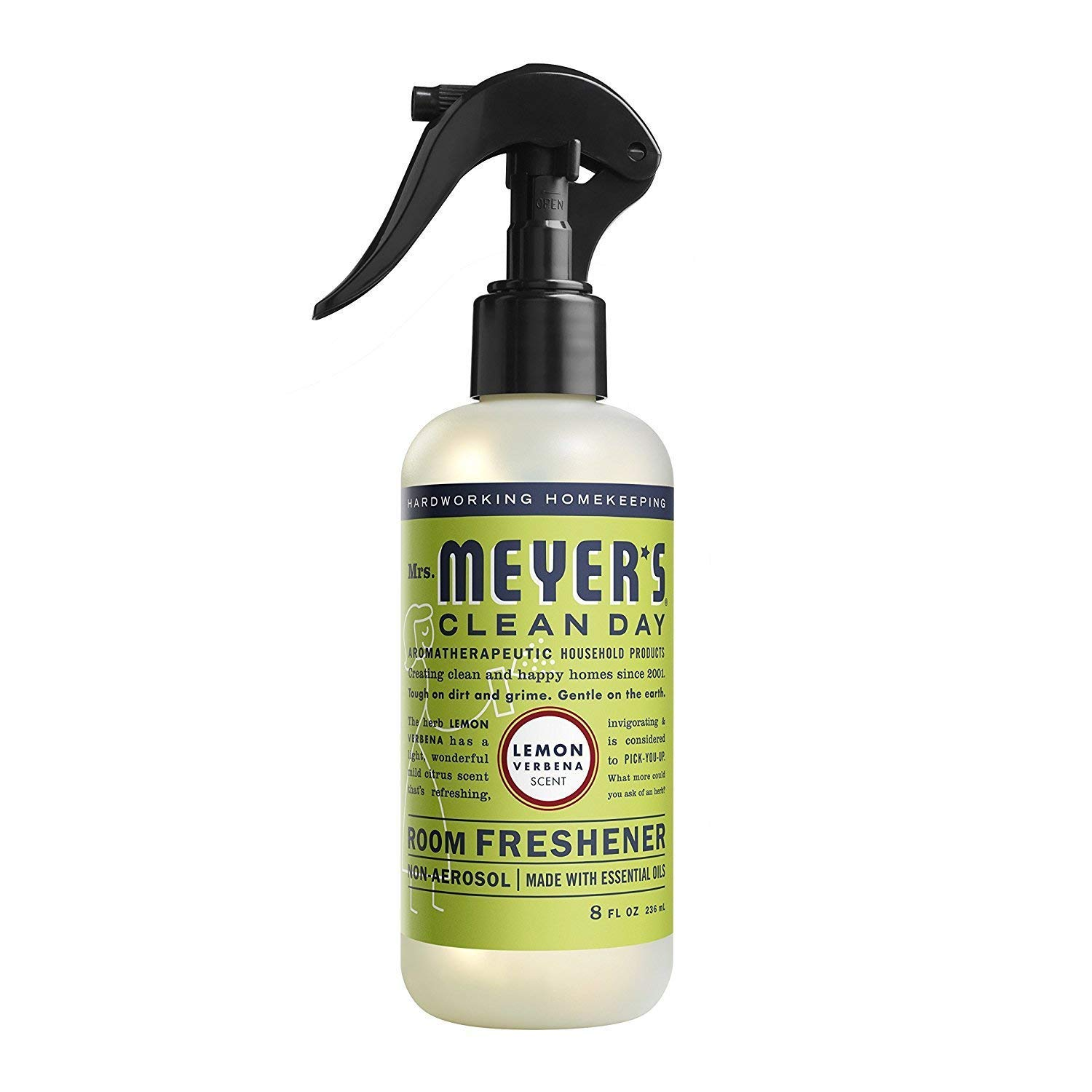 Mrs. Meyer's Room Freshener, 8 OZ (Lemon Verbena, Pack - 3)