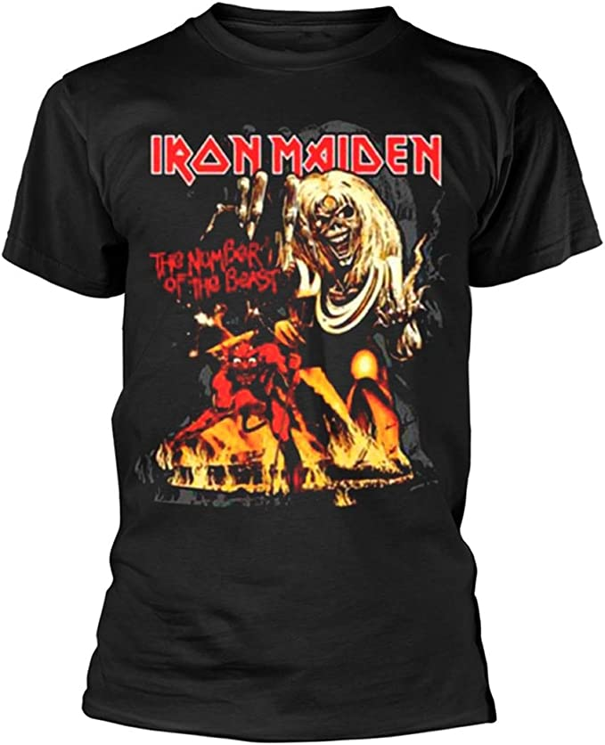 Collectors Mine Herren Iron Maiden-Killers Cover T-Shirt