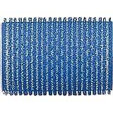 Fripac-Medis Le Coiffeur Lot de 12 Bigoudis Bleu Foncé Diamètre 40 mm