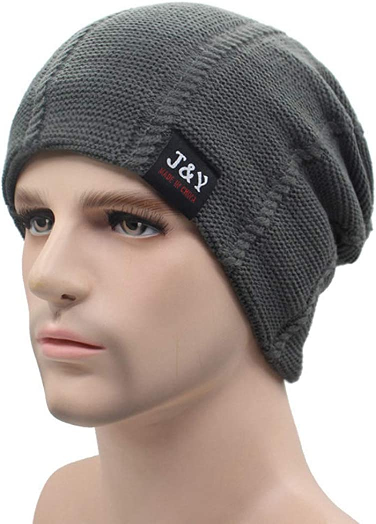 SANOMY Men Beanies Knitted Hat,Winter Hat Skullies Beanies Caps,Warm Baggy Mask Fashion Hats for Women