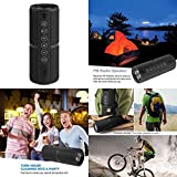GOOD MEDIA Bluetooth Wireless Speaker Waterproof Portable Outdoor Bass Built in Mic Radio