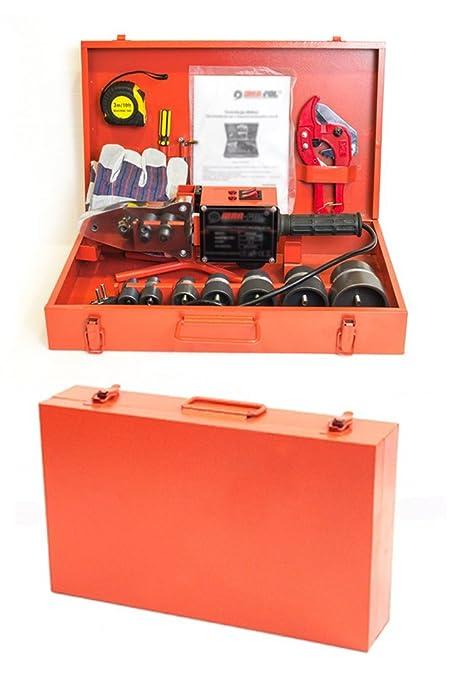 Soldador, máquina soldadora de tubos ppr, 2,66 kW