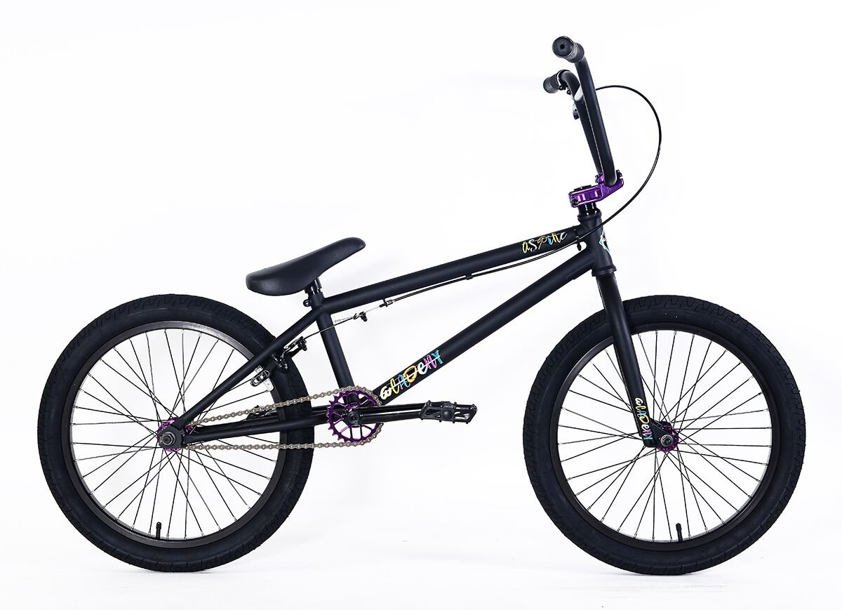 (BMX ストリート) Academy 2018 Aspire (Matt Black with Purple) B076RZG2XP