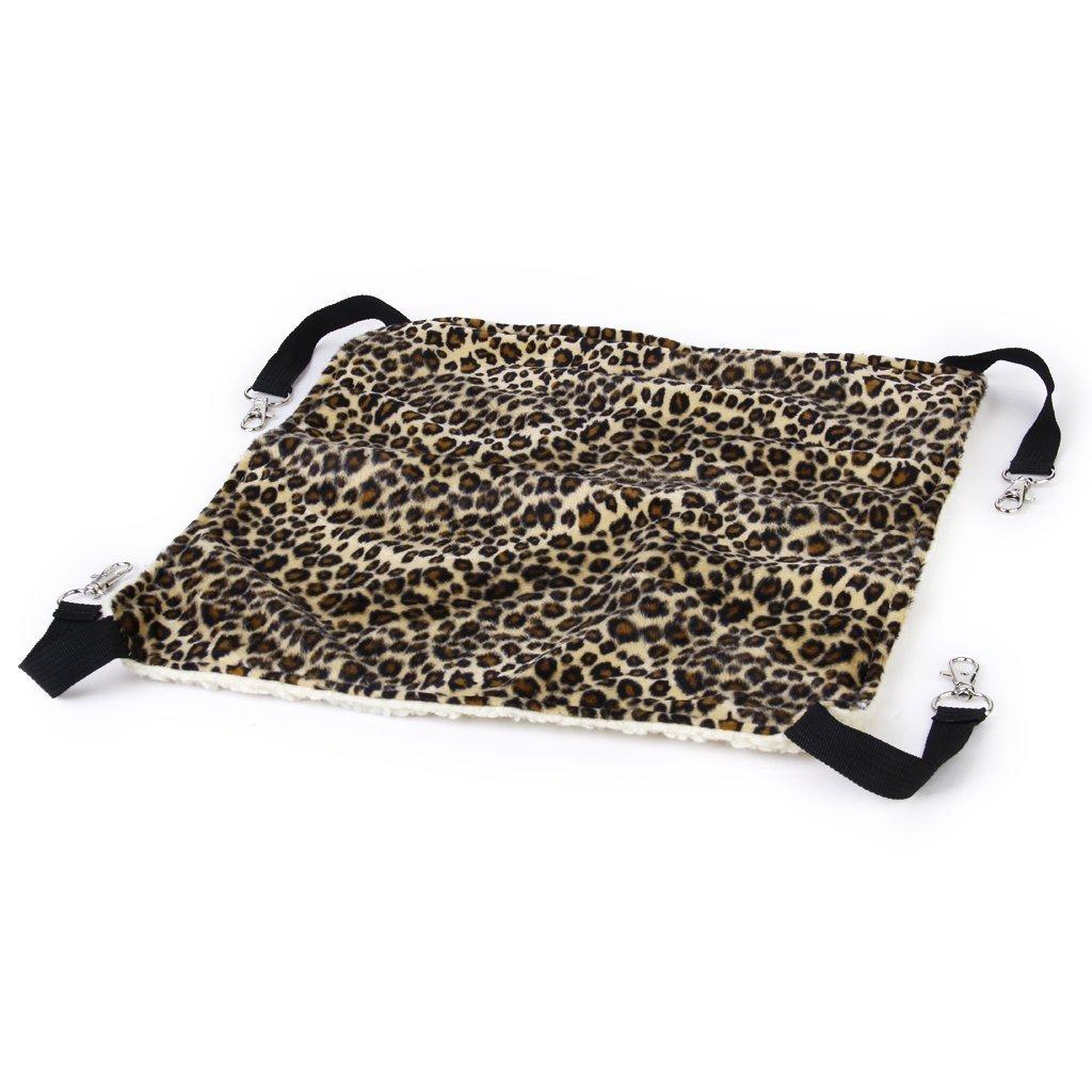 OCSOSO Cat Hammock Kitten Pet Cage Hammock Bed Hanging Soft Under Chair for Kitten Ferret Puppy or Small Pet