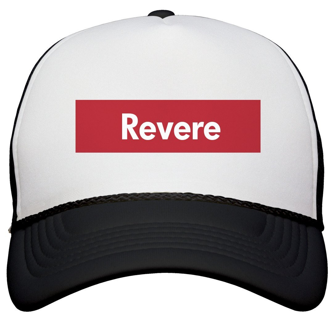 Amazon.com  FUNNYSHIRTS.ORG Represent Revere Supreme Hat  Snapback ... 0ab229f6f80