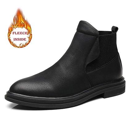 Jiuyue-shoes, Botas para Hombre 2018 Botas Chelsea de Moda para Hombre, Son