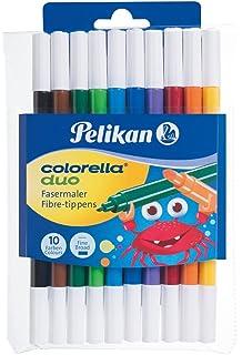Pelikan- Colorella Star Pack de 30 rotuladores de Punta Fina, Colores (904854): Amazon.es: Juguetes y juegos