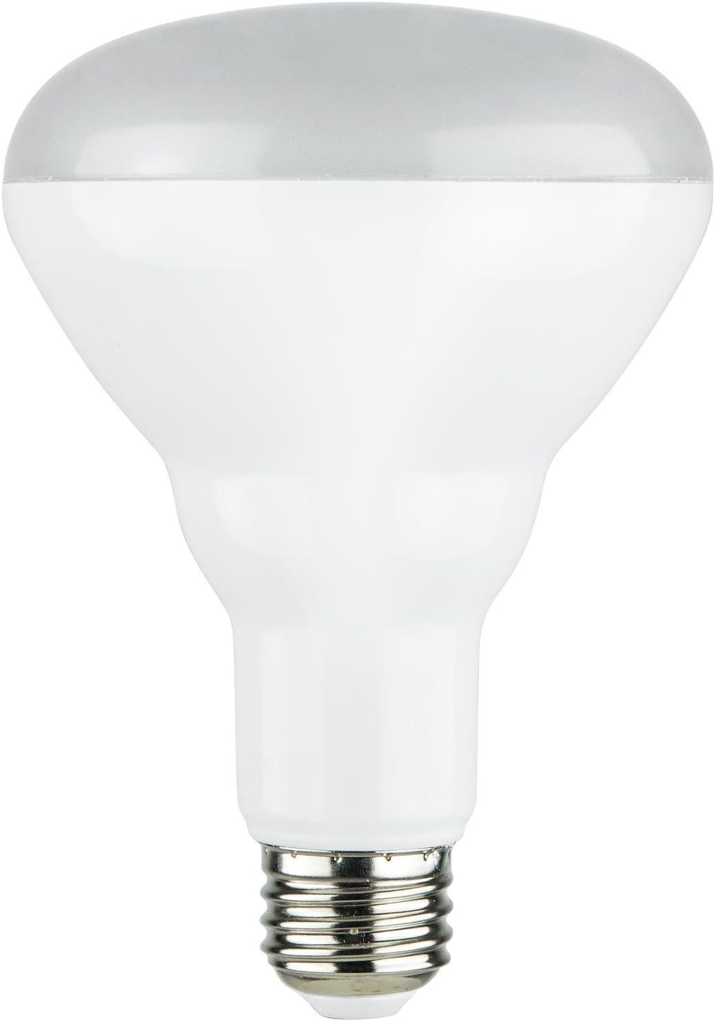 9 Watts E26 Warm White Medium Base 30K Sunlite 82036-SU LED 90 CRI BR30 Reflector Light Bulb Dimmable Energy Star Certified 650 Lumens 6 Pack ETL Listed 65W Equivalent