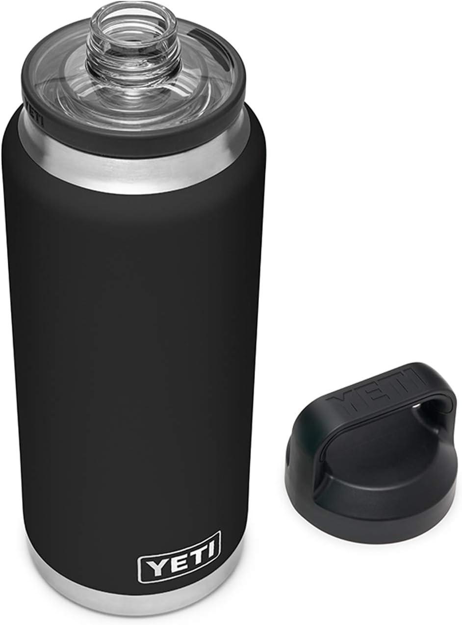YETI Rambler 36 oz Bottle, Vacuum Insulated, Stainless Steel with Chug Cap