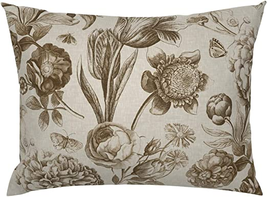 The Pillow Collection Robbia Floral Bedding Sham Dusk King//20 x 36