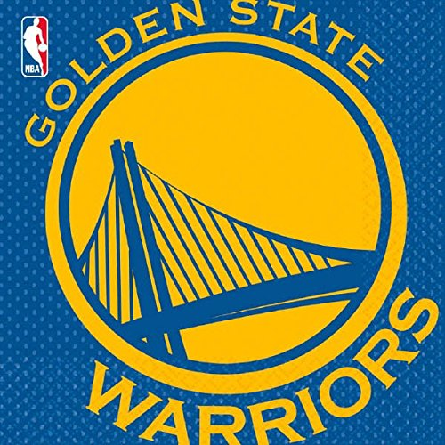 sports-and-tailgating-nba-party-golden-state-warriors-luncheon-napkins-tableware-paper-6-x-6-pack-of