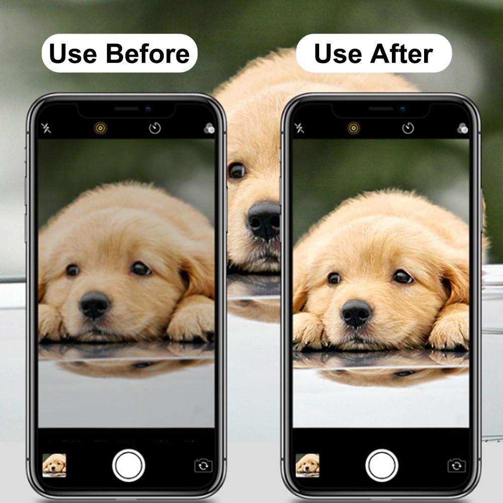 Film De Protection pour T/él/éphone Portable Polyvalent en Alliage De Titane pour Apple IPhone 11 Pro Max Lentille Protectrice De Cam/éra De T/él/éphone Portable Cam/éra De T/él/éphone 3D Anti-Rayures