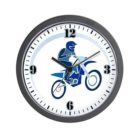 En Pared De Mx Motocross Reloj Bike Flying Dirt AzulAmazon esHogar I2eYW9EbDH