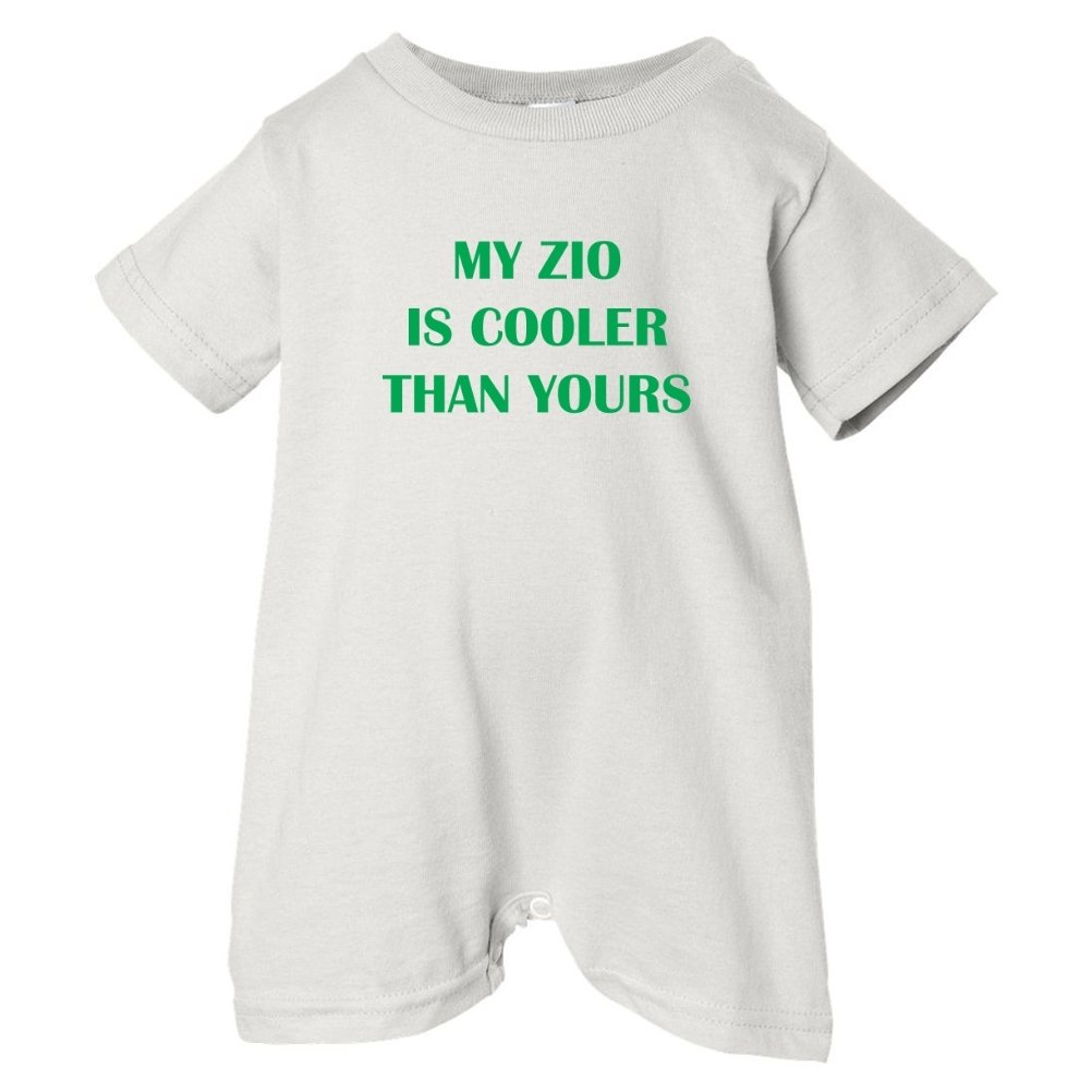 So Relative Unisex Baby My Zio Is Cooler Than Yours T-Shirt Romper