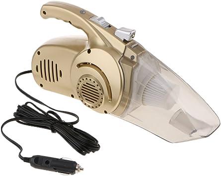 non-brand Sharplace Aspiradora Multifuncional Compresor de Aire Inflador de Neumáticos Indicador de Presión Car Wet Dry Vacuum Cleaner: Amazon.es: Coche y moto