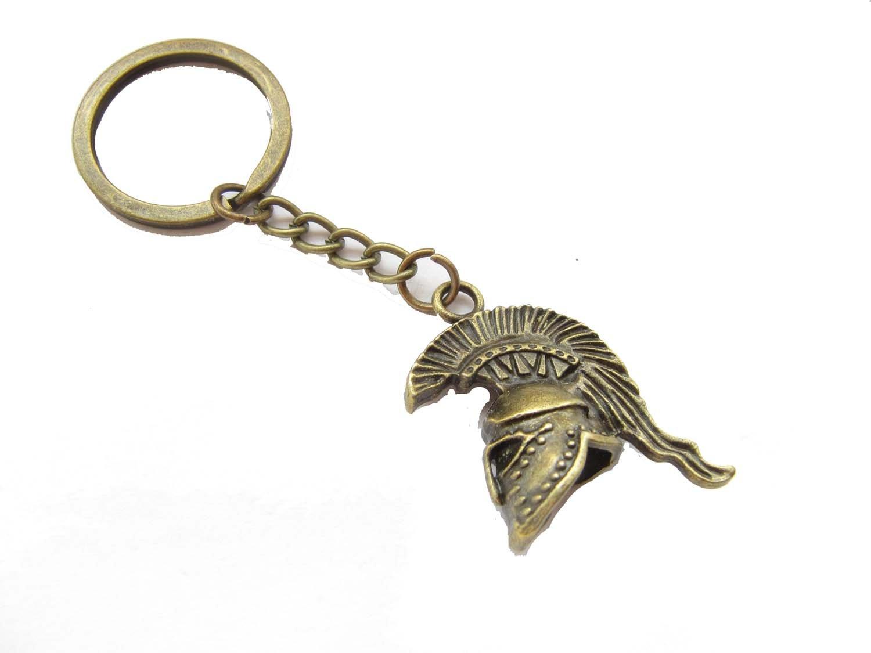 Spartan HELMET - Llavero, diseño de guerrero espartano ...