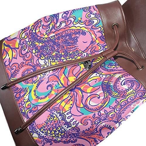 Sac main pour Taille porté unique femme dos au à DragonSwordlinsu multicolore pfdnBCf