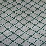 Aquagart Teichnetz, 10m x 8m, dunkelgrün, engmaschig: Maschenweite 15mm x 15mm, Laubnetz, Teichabdecknetz, Vogelabwehrnetz, Reihernetz robust