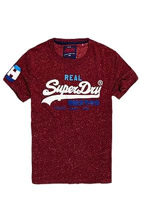 buy popular 83e06 91913 Superdry Herren Pullunder Vintage Logo Tri Tee