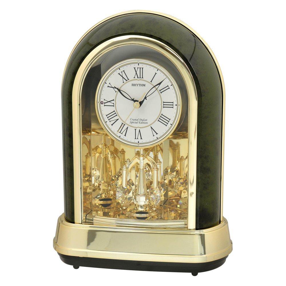 Rhythm USA Crystal Dulcet Mantel Clock by Rhythm USA