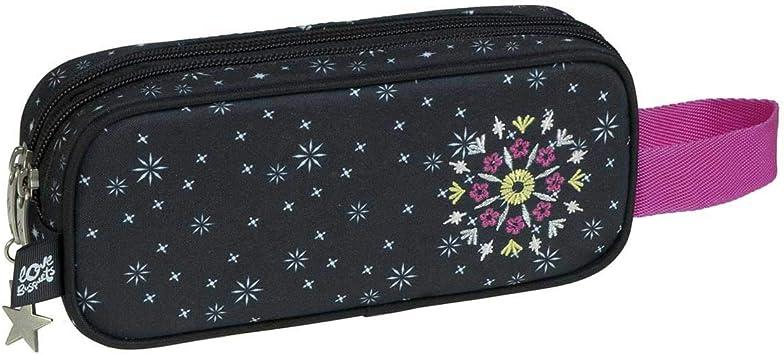Estuche 2 Compartimentos Sparkly by BUSQUETS: Amazon.es: Equipaje