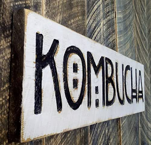 Amazon.com: Kombucha Sign 40x10 Horizontal