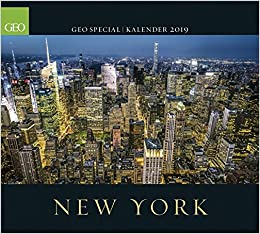 Calendrier Geo 2019.Geo Special New York 2019 4002725962065 Amazon Com Books