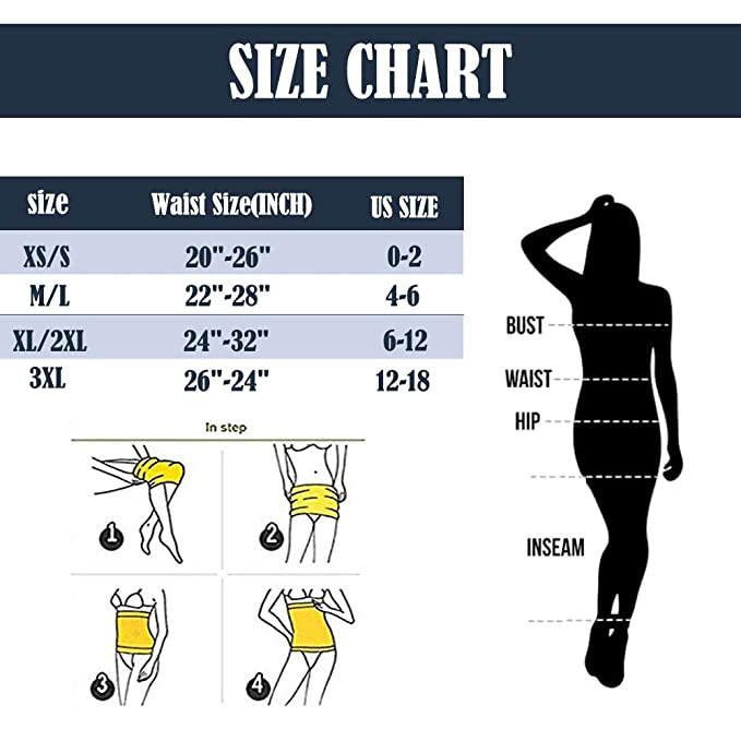 72b03b9d77 Amazon.com  Evenriver Womens Belly Wrap Waist Trainer Sport Black Control  Top Tummy Belt Sauna Seamless Waist Cincher  Health   Personal Care
